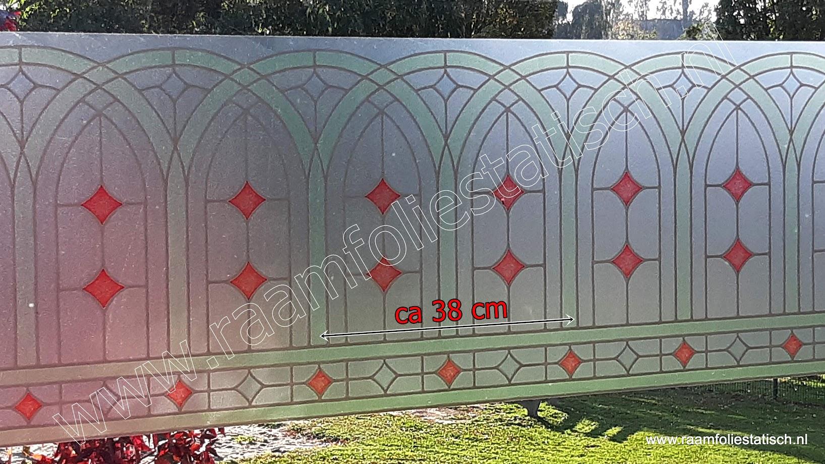 plakfolie d-c-fix voor ramen glas in lood