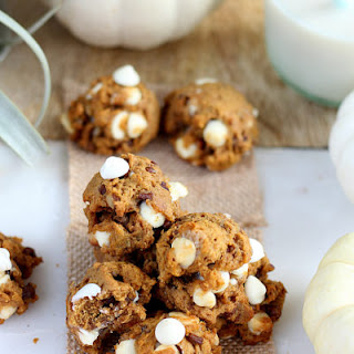 Two-Bite Pumpkin Cookies (low sugar and dairy free)