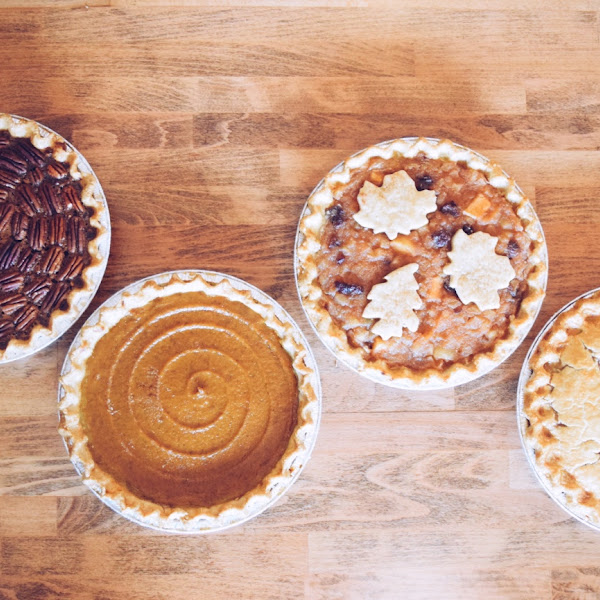 Pies for Thanksgiving!
