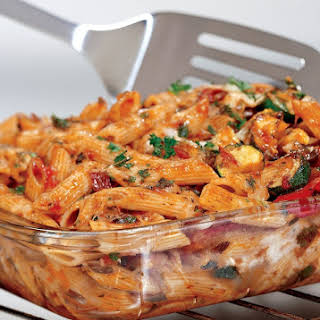 Three Cheese Baked Penne.