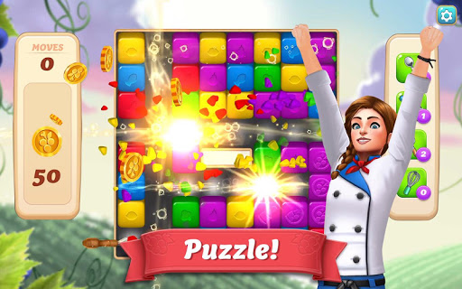 Vineyard Valley: Match & Blast Puzzle Design Game - screenshot