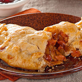 Turkey Empanadas with BBQ-Cranberry Sauce