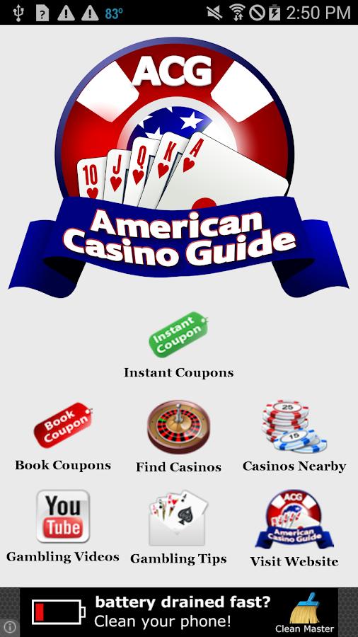 American Casino Guide- screenshot