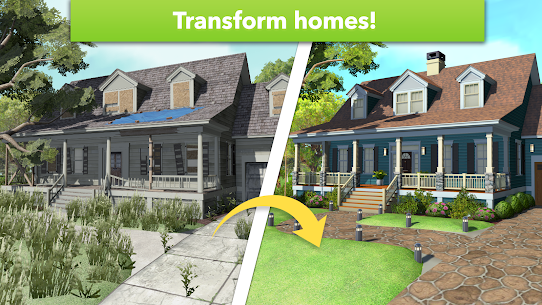 Home Design Makeover Mod Apk (Unlimited Money/Tickets) 3.3.8g 2