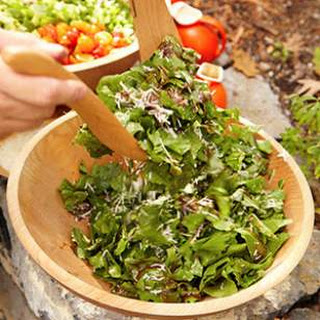 Herb & Arugula Salad with Balsamic Vinaigrette Recipe