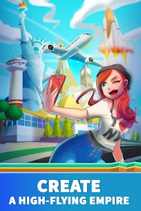 Idle Airport Tycoon – Tourism Empire Mod Apk Download For Android and Iphone 5