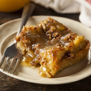 Bon Ton Cafe's Bread Pudding