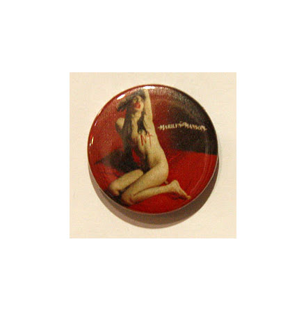 Manson Marilyn - Naken - Badge