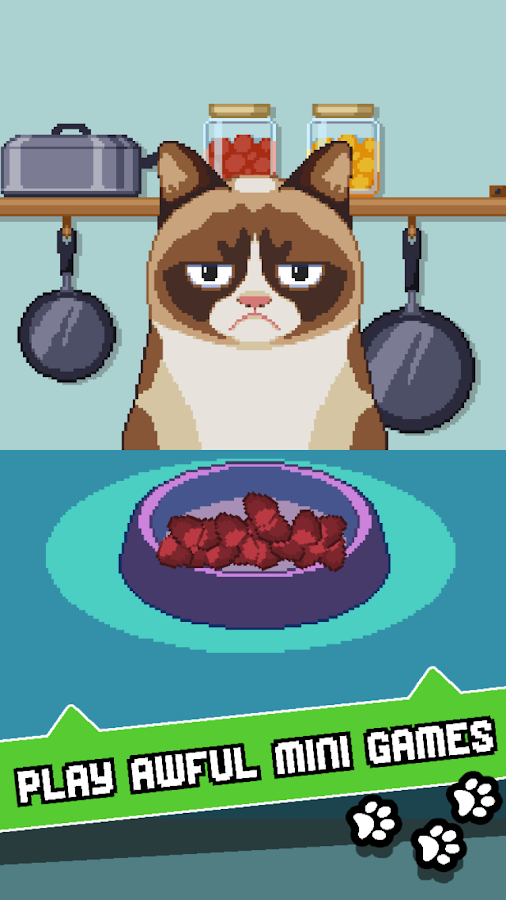 Grumpy Cat's Worst Game Ever- screenshot