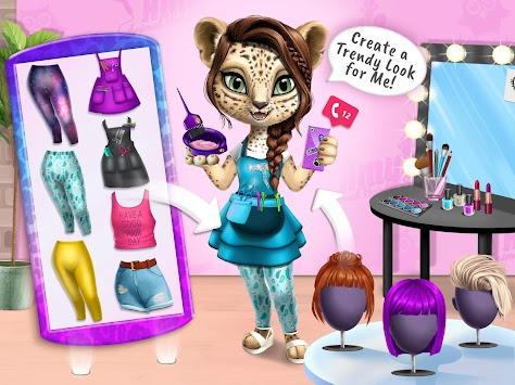 Amy's Animal Hair Salon - Fluffy Cats Makeovers