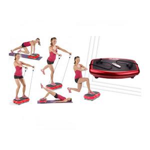 Aparat de fitness cu vibromasaj