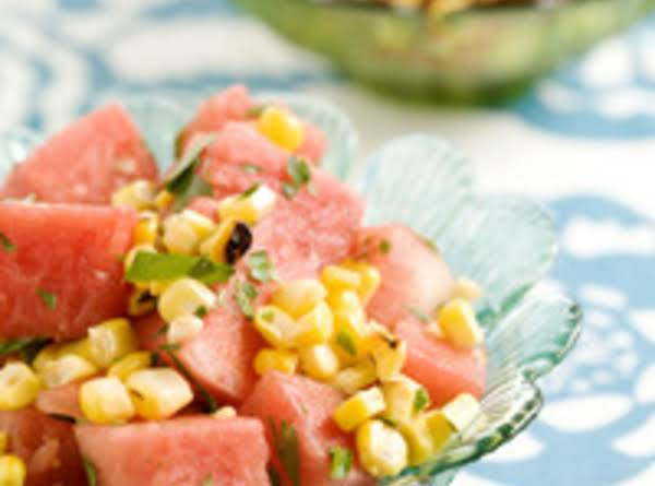 Watermelon And Grilled Corn Salad