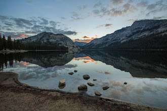 Photo: After shooting the night time-lapse video of the Rim Fire in Yosemite National Park this week, I headed up the Tioga Road to Tenaya Lake for sunrise.