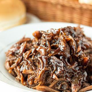 Honey Balsamic Pulled Pork.