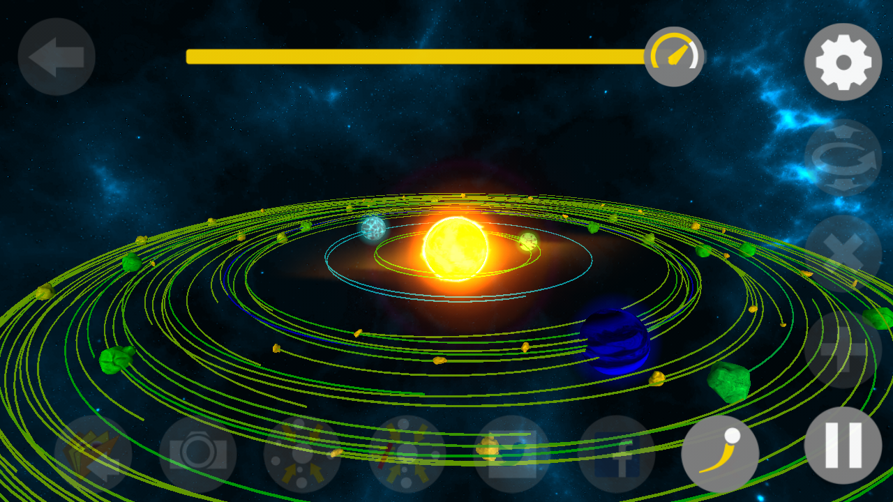 Star Sim 3D: Gravity in Space- screenshot
