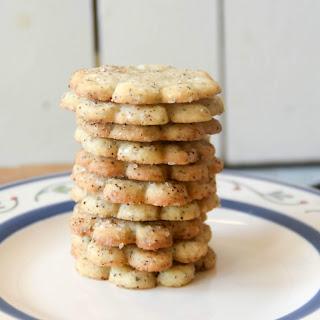 Chai Shortbread Cookies.