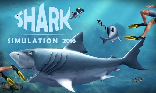 Shark Simulation 2016
