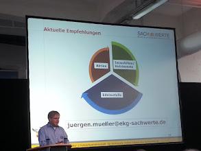 Photo: jürgen müller ~ the three spokes investment rule ~ http://jarogruber.blogspot.de/2015/11/edelmetalmesse.html
