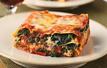 Spinach~Tempeh Lasagna