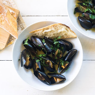 Julia Child'S Mussels Mariniere Recipe