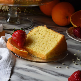 Perfect Light Fluffy Orange Chiffon Cake Recipe