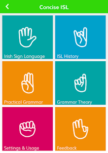 Concise Irish Sign Language- screenshot thumbnail