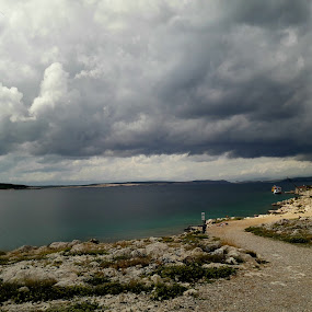 Clouds before storm by Nat Bolfan-Stosic - Landscapes Cloud Formations ( clouds, summer, sea, storm, rain )