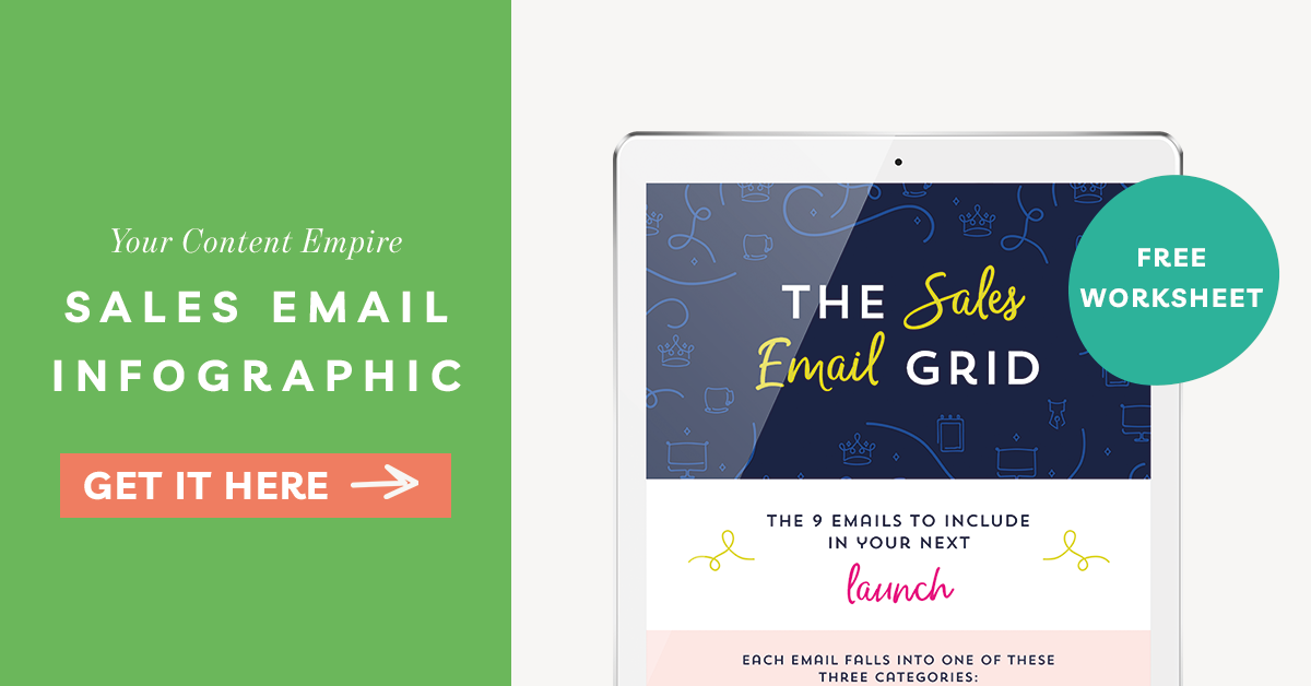 Freebie | Sales Email Infographic