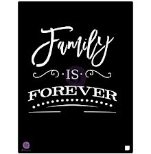 Prima Stencil 9.5X12 - Family Is Forever UTGÅENDE