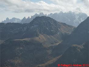 Photo: IMG_4460 Pale di San Martino da Cima Malinverno