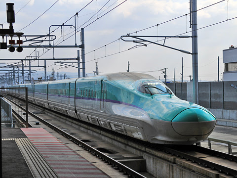 JR北海道 H5系新幹線「はやぶさ95号」 新函館北斗にて