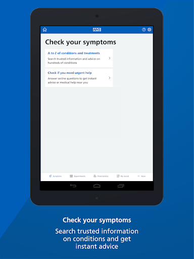 NHS App screenshot 14