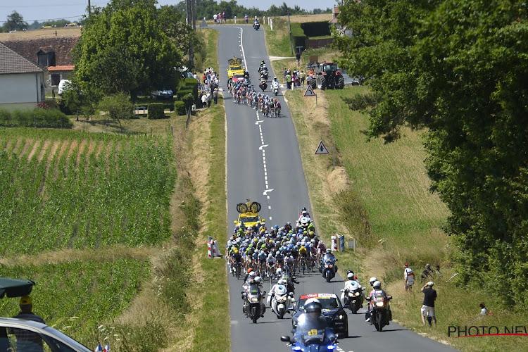 Weersomstandigheden zorgen voor heel wat valpartijen in eerste etappe Tour de France