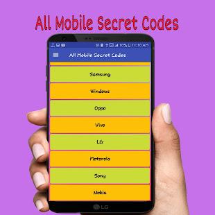 All Mobile Secret Codes(Android Secret Codes) - náhled