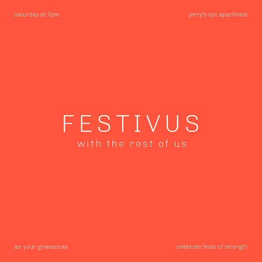 Festivus for the Rest of Us - Instagram Post Template
