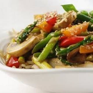 Stir Fry White Rice And Vegetables Recipes.