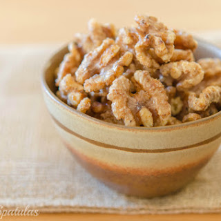 Cayenne Maple Glazed Walnuts