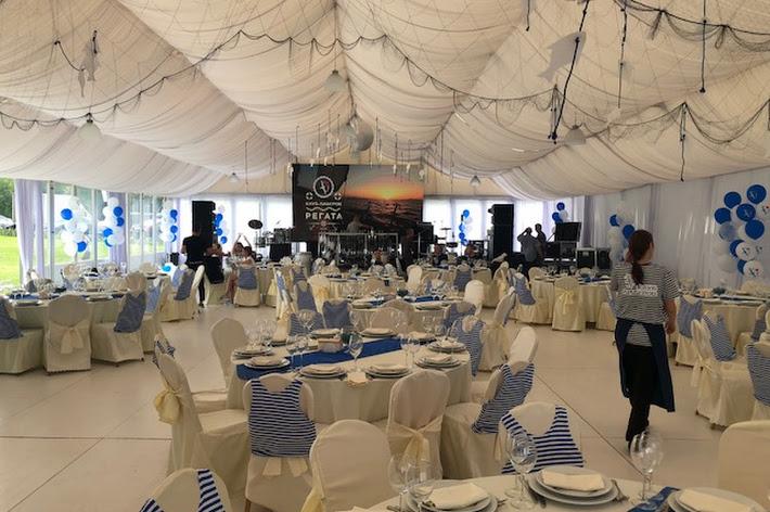 Фото №3 зала Большой шатер с верандой