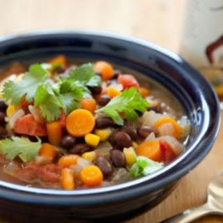 Zesty Black Bean Soup Recipe