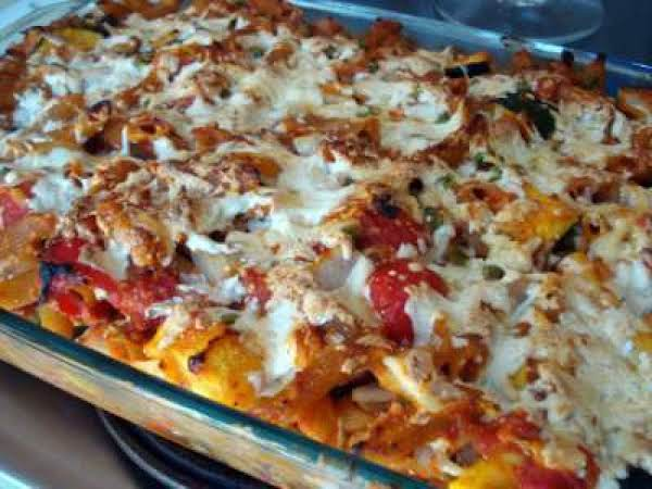 Italian Style Vegetable Casserole Recipe