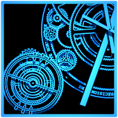 Clock Studio Live Wallpaper