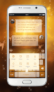 TouchPal Aries Keyboard Theme screenshot 2