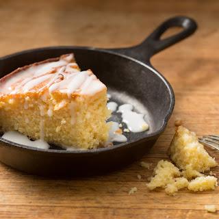 Skillet Lemonade Cornmeal Cake
