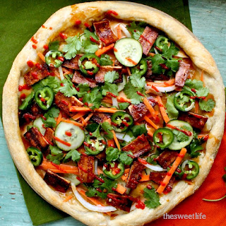 Vegan Banh Mi Pizza