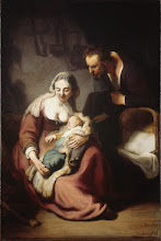 Photo: Rembrandt, The Holy Family, Ca. 1633-34