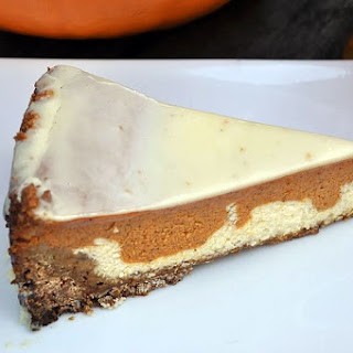 PARADISE PUMPKIN PIE WITH WHITE CHOCOLATE GANACHE