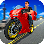 Super Bike Cargo Delivery 3D Icon