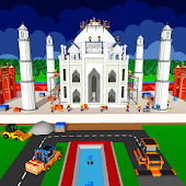 Taj Mahal Construction Games