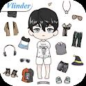 Vlinder Boy: Dress up games icon