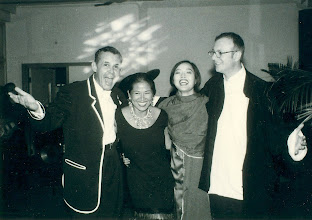 Photo: With Victor Stapleberg, Frances & Sally @ my 40th - Stanley Fort, Hong Kong, 6th November 1996.
